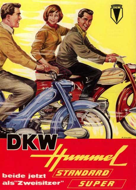 dkw hummel super zweirad union mopeds. Black Bedroom Furniture Sets. Home Design Ideas